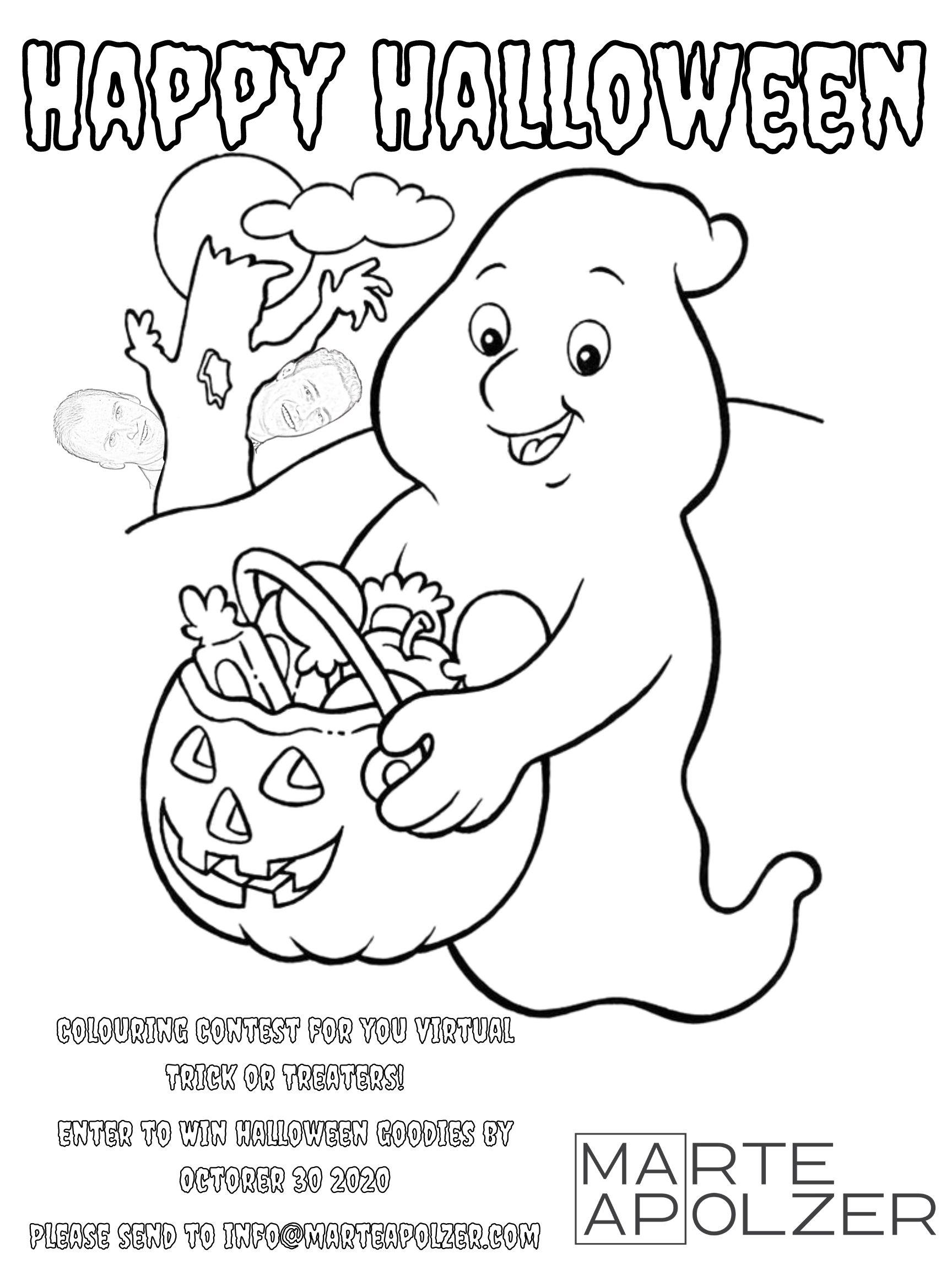 Happy Halloween – Colouring Contest
